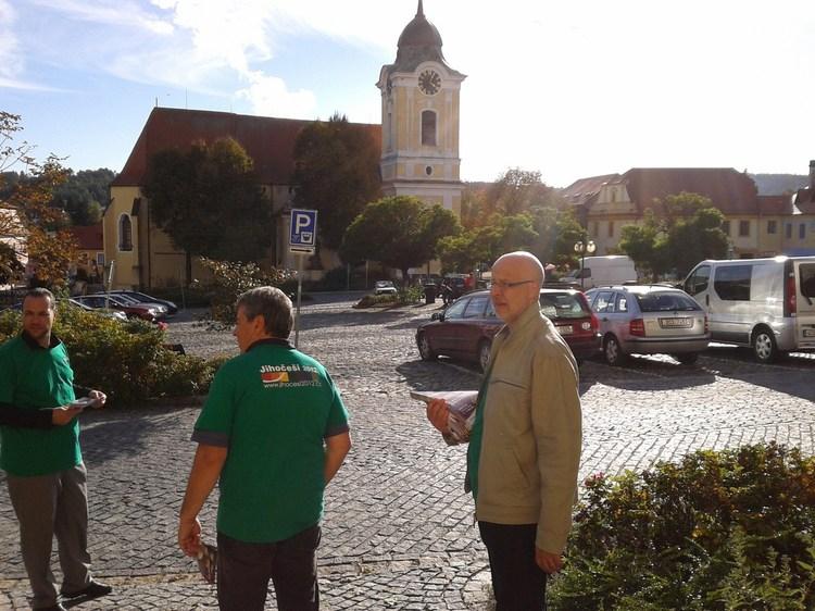 Obrázek kčlánku Mezi občany vTýnu nad Vltavou