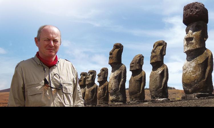 Obrázek kčlánku Pavel Pavel představil další knihu oVelikonočním ostrově