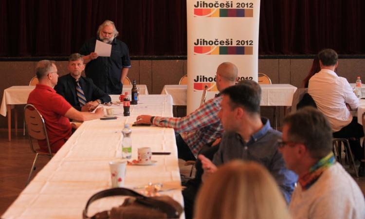Obrázek kčlánku Tisková zpráva zvolebního sněmu hnutí Jihočeši 2012
